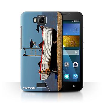 STUFF4 Case/Cover for Huawei Honor Bee/Y5c/Rusty Boat/British Coast