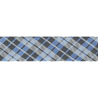 Nouveauté Fashion biais 20 Mm X 22 Yards Blue Plaid 1782 103