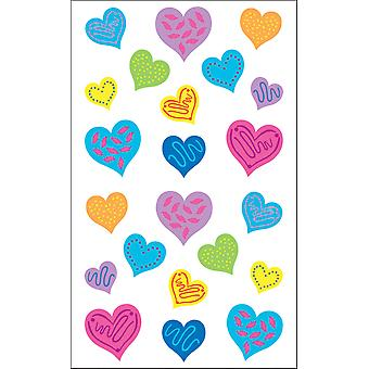 Mrs. Grossman's Stickers Happy Hearts Mg199 01193