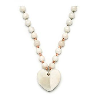 Lola Rose Josephina collana bianco Sea Shell marmo