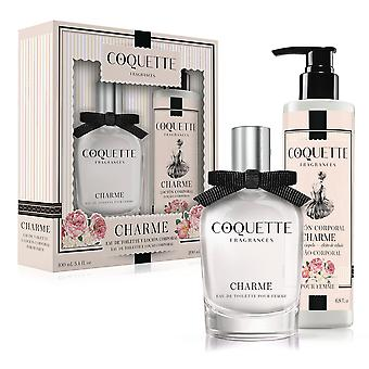 Coquette Charme i September edt 100ml + Lotion 200 Ml
