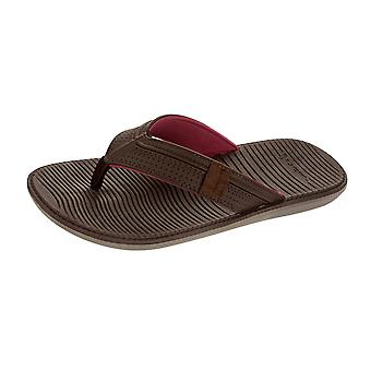 Rider Malta Thong Mens Flip Flops / Sandals - Brown