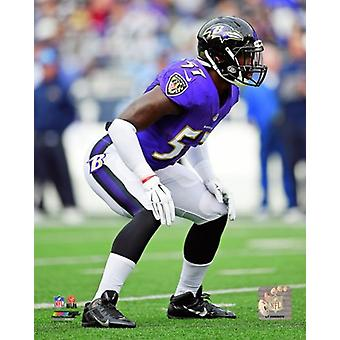 CJ Mosley 2014 Action Photo Print