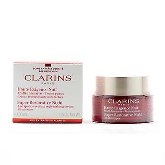Clarins Super rigenerante notte che pelle tutti i tipi di 1,6 oz / 50ml