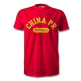 T-Shirt de Football PR China