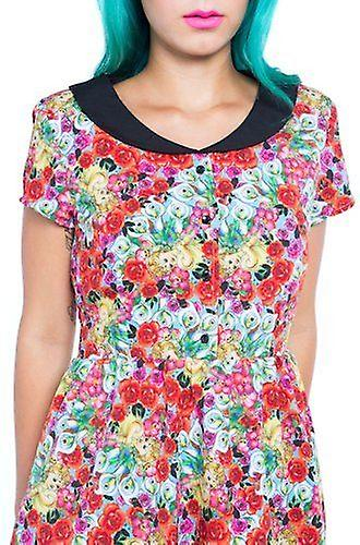 Iron Fist Womens Cruel Intentions Multicoloured Floral Dress Rose Flower
