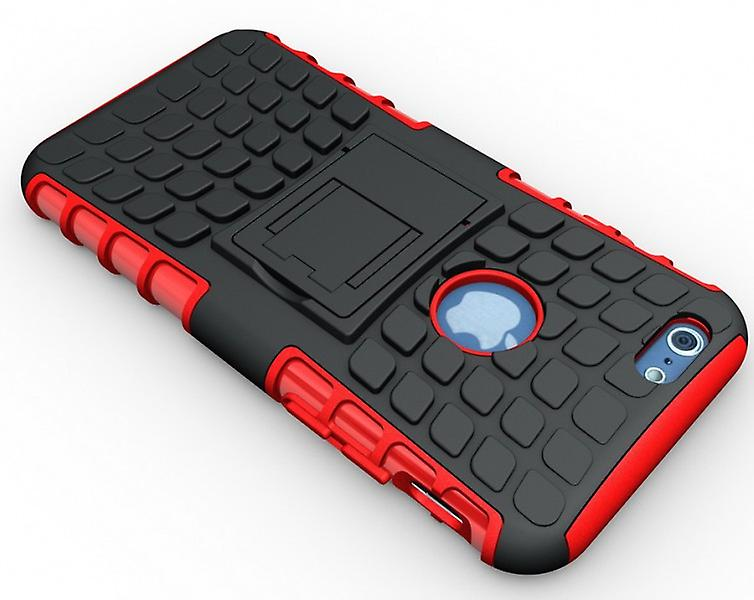 Hybrid case 2 piece set robot red for Apple iPhone 6 plus 5.5