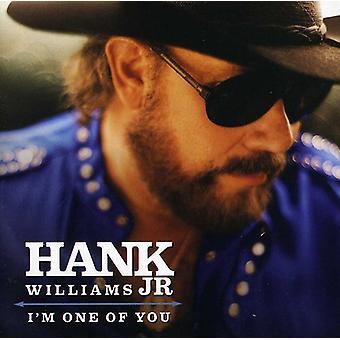 Hank Williams Jr - Jag är en av du [CD] USA import