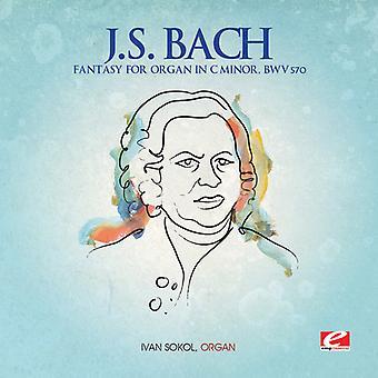 J.S. Bach - Fantasy for Organ in C Minor [CD] USA import