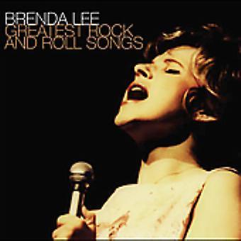 Brenda Lee - importación de los E.e.u.u. más grandes canciones de Rock & Roll [CD]