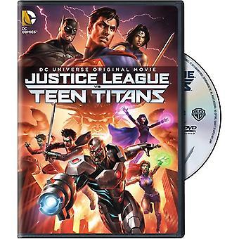Justice League vs USA Teen Titans [DVD] import