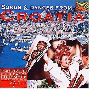 Zagreb Folk Dance Ensemble - Songs & Dances From Croatia [CD] USA import