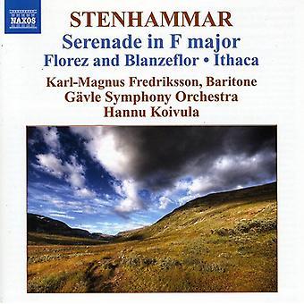 W. Stenhammar - Stenhammar: Serenad i F-dur; Florez och Blanzeflor; Ithaca [CD] USA import