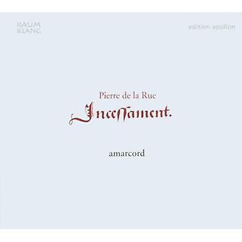 De La Rue / Amarcord - Incessament [CD] USA import