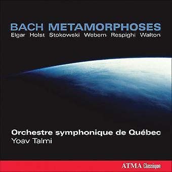 J.S. Bach - Bach M Tamorphoses: Stokowski, Walton, Holst, Elgar, Talmi, Webern, Respighi [CD] USA importare