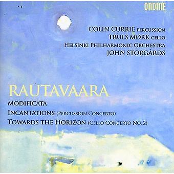 E. Rautavaara - Rautavaara: Modificeret; Besværgelser; Mod horisonten [CD] USA Importer