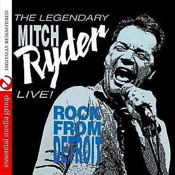 Mitch Ryder - Live! Rock aus Detroit [CD] USA import