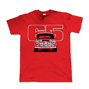 Vectorbomb, Cooper S 65 Rally Car, Mens T-Shirt