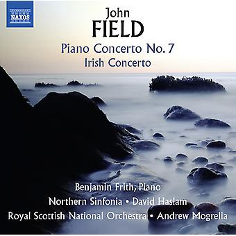 Field / Frith / Sinfonia / Mogrelia - John Field: Piano Concerto No. 7 - Irish Concerto [CD] USA import
