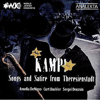 Demayo, Amelia / Buckler, Curt / Dreznin, Sergei - Kamp Songs og Satire fra Theresienstadt [CD] USA import