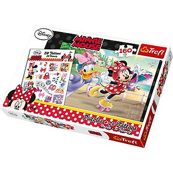 Legler Minnie Mouse Puzzle includes Tattoos (Toys , Boardgames , Puzzles)