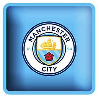 Manchester City FC Official Football Crest Square Cushion