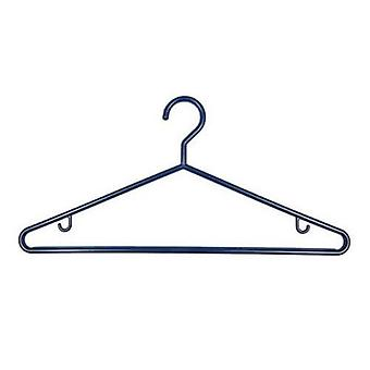 1x3 Navy Plastic Hangers 43cm from Caraselle