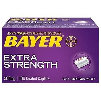 Bayer ekstra styrke Aspirin 500 mg overtrukne kapsler