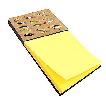Pesca esche Refiillable note di Sticky Note titolare o Postit nota Dispenser