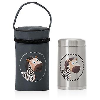 MS zebra thermos (Kitchen , Household , Child's)