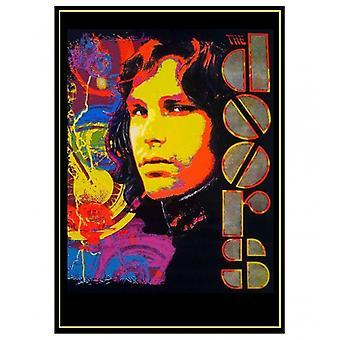 Jim Morrison Blacklight Poster Poster Print by