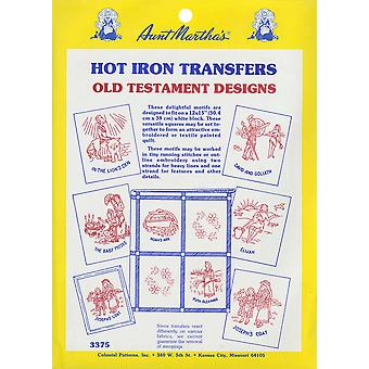 Aunt Martha's Iron On Transfer Collections Old Testament Motifs Tpc 3375