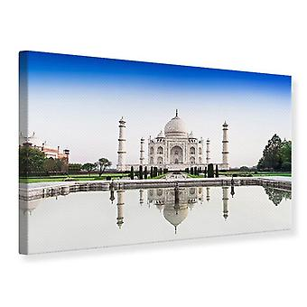Canvas Print Taj Mahal