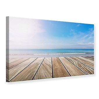 Canvas Print The Beautiful Beach House