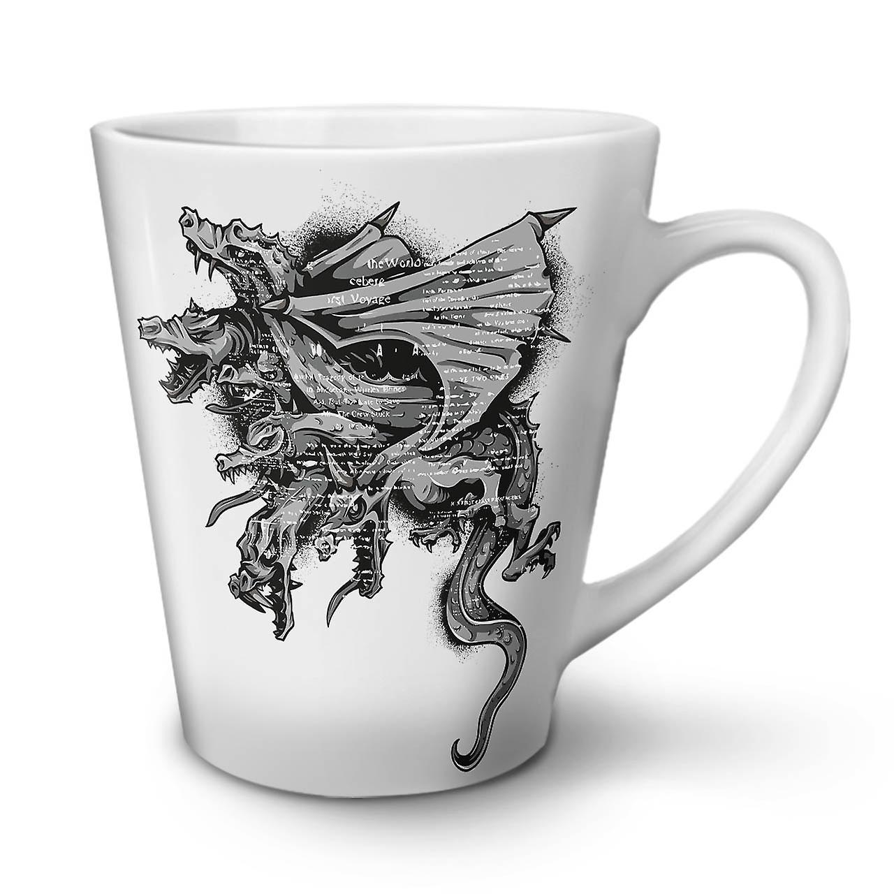 Latte OzWellcoda Café Céramique Nouveau Blanc Dragon En 12 Thé Gang Mob Mug Équipage EDW29YIH