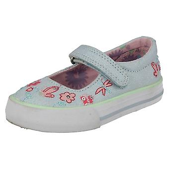 Girls Startrite Casual Canvas Shoes Amalfi