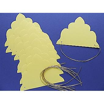 SALE -  10 Yellow Tiaras to Decorate | Crown Making Crafts for Kids