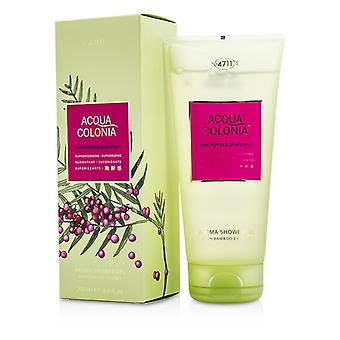 4711 Acqua Colonia Rosa pimienta y pomelo Aroma ducha Gel 200ml/6.8 oz