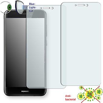 Huawei P8 Lite (2017) screen protector - Disagu ClearScreen protector (deliberately smaller than the display, as this is arched)