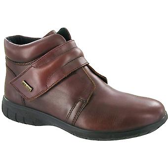 Cotswold Ladies Chalford Touch Fastening Leather Waterproof Boot Brown