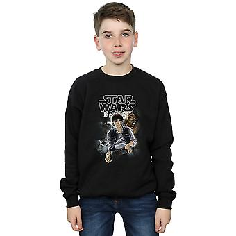 Star Wars Boys Han And Chewie Anime Sweatshirt