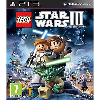 LEGO Star Wars 3 The Clone Wars (PS3) - Fabrik versiegelt