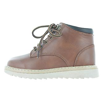Boys Buckle My Shoe Brown Tan Ankle Boots Back to School Zip Up Various Sizes