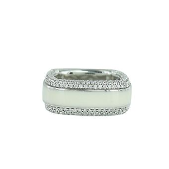 Esprit Collection Damen Ring Silber Zirkonia Algea Gr.18 ELRG92197A180