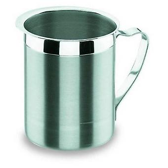 Lacor Convex carafe without lid in stainless steel 2 lts