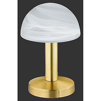 トリオ照明 Fynn クラシック真鍮マット テーブル ランプ