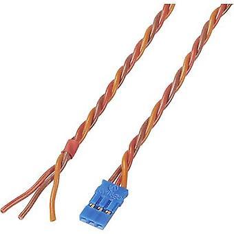 Servo kabel [1 x JR socket - 1 x Sony Xperia] 300 mm 0,35 mm² Silicon Modelcraft