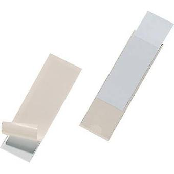 Durable bolsa de cierre automático Pocketfix (W x H) 100 x 30 mm