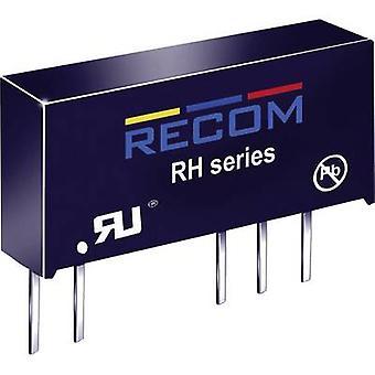 RECOM RH-0515D DC/DC converter (print) 5 Vdc 15 Vdc, -15 Vdc 33 mA 1 W No. of outputs: 2 x