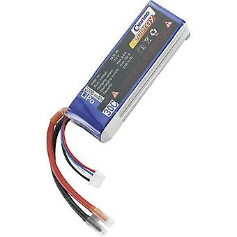 Conrad energy Scale model battery pack (LiPo) 11.1 V 2200 mAh No. of cells: 3 30 C Stick Open cable ends